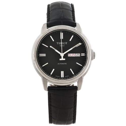 Tissot para Hombre AUTOMATICS III Negro Dial analógico Reloj t0654301605100