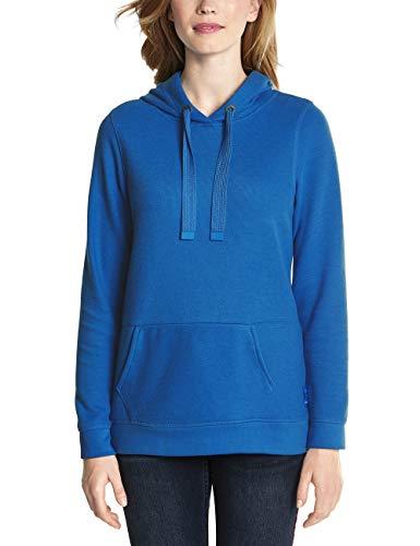 CECIL Damen Langarmshirt 312943, Blau (Cornflower Blue 11598), X-Small (Herstellergröße: XS)