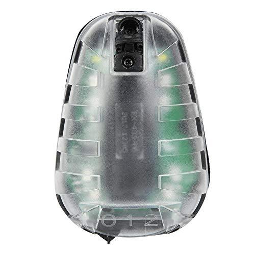 Vbestlife Utomhus Airsoft stroboskop ljus, EX433-BK-GREEN airsoft säkerhet blixt ljus överlevnad IR-blixt vattentät nyckelpiga lampa