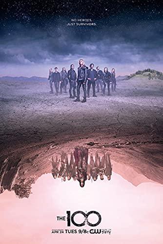 Print Artwork de 100 Tv Science Fiction Film op Canvas Posters en Prints Muur Art Fotos voor Woonkamer Decoratie 60x90cm