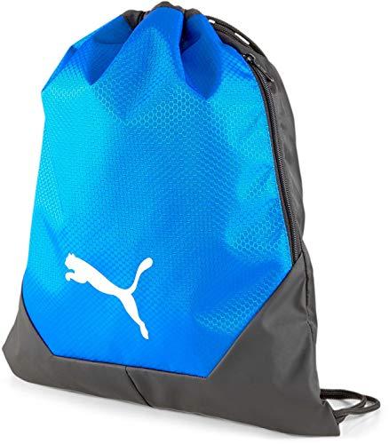 Puma - Mens Teamfinal 21 Gym Sack, Size: O/S, Color: Puma Black/Electric Blue Lemonade
