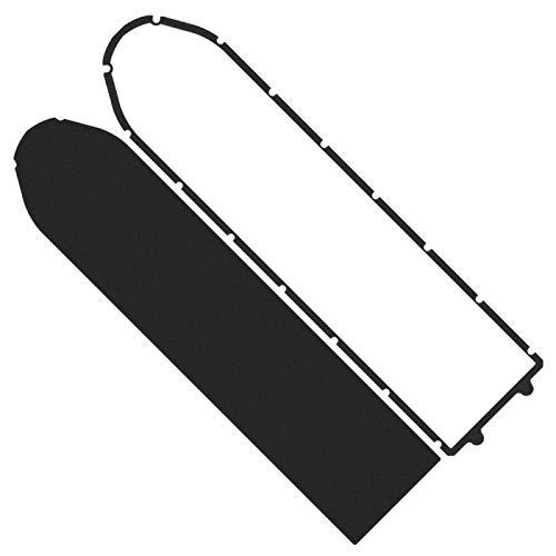DAUERHAFT Accesorio para Scooter Zócalo de algodón de Espuma Anillo Impermeable Ligero práctico Zócalo Impermeable Anillo para Scooter MAX-G30