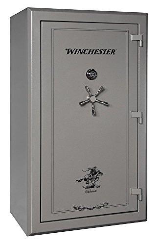 Winchester Silverado 51, 48 Gun Capacity Gun Safe- Gun Metal E-Lock