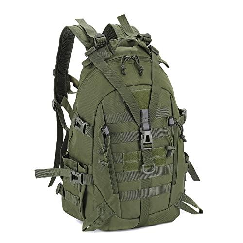 LHI Mochila táctica militar para hombres 35L 45L Ejército Pack BugOut Bolsa