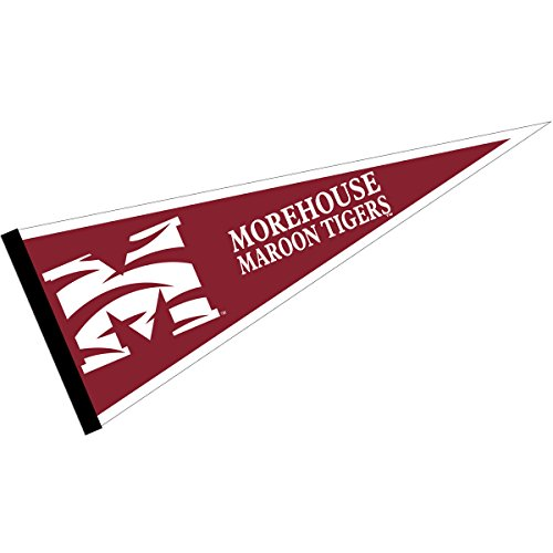 College Flags & Banners Co. Morehouse Maroon Tigers Pennant