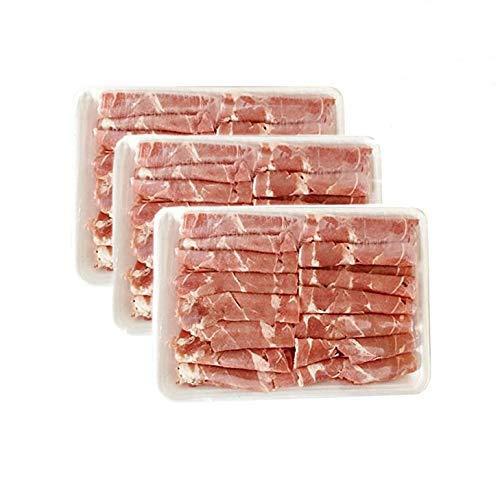 ラムしゃぶ 【3パックセット】 羊肉片 ラム肉薄切りスライス 300g×3 冷凍食品 しゃぶしゃぶ&火鍋