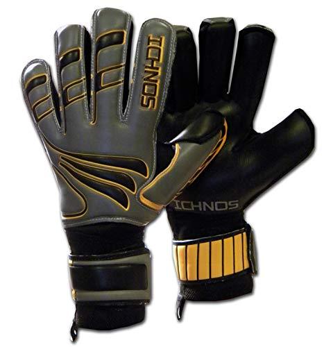 ICHNOS Artemis Magma Voetbal keepershandschoenen met vinger plaatjes