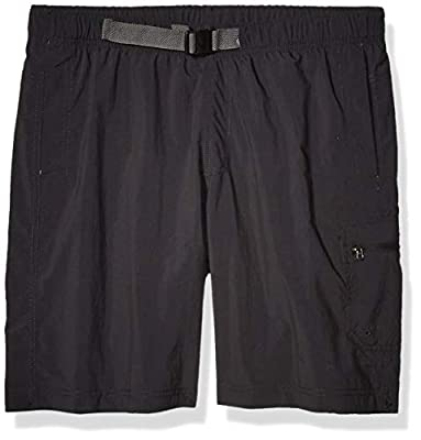 "Columbia Men's Palmerston Peak Short, Waterproof, UV Sun Protection, Black, Medium x 9"" Inseam"
