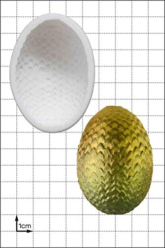 Molde de silicona para huevos de dragón (grande), molde antiadherente de grado alimenticio, molde de fondant, molde de caramelo, molde de resina, molde de fimo, molde de arcilla,...