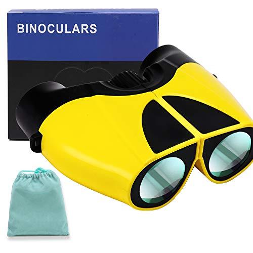 10x22 Binocolo Professionale, Telescopi Compatto per Adulti, Potente Binocolo Leggero Professionale HD per Bird-Watching,attività all Aperto,Sport Stadio,Concerti,con Sacchetto di Trasporto,Cinghia