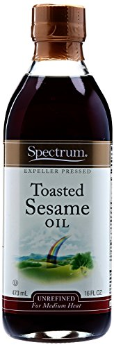 Spectrum Sesame Oil, Toasted, Unrefined, 16 oz