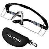 Safety Glasses Anti Fog Goggles, Protective Eyeware Glasses for Daily, Work Lab