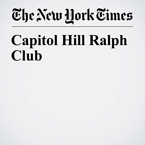 Capitol Hill Ralph Club copertina