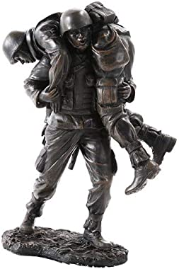 Pacific Giftware America's Finest Band of Brothers Soldier Military Heroes Collectible Figurine