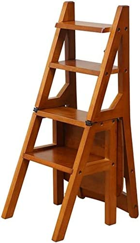 TZSMJT Ladder Stools Home Chair Shipping included Non-slip Pad Foot Solid W 25% OFF
