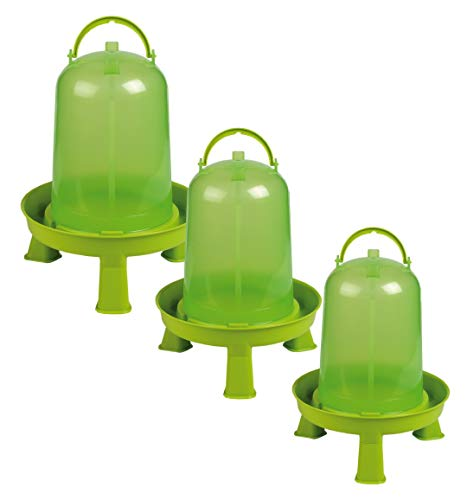 Gaun Huhn-Trinker Eco Green C/ W Legs - 8 lt - Grün Clear, Unisex, GAU0090