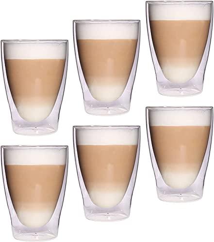 Feelino Lattechino doppelwandige Latte Macchiato-Gläser