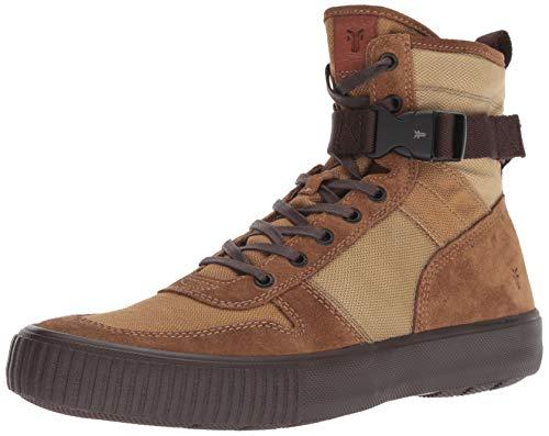 FRYE Men's Combat LACE UP Sneaker, tan Multi, 11.5M M US