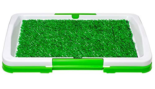 DIVCHI Dog Puppy Pet Indoor Outdoor Potty Trainer Tray, Removable Waste...