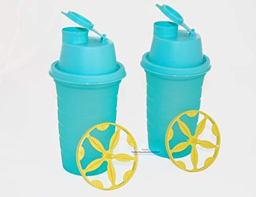 Tupperware® Shake It ! 2x 250 ml Messbecher/Mixbecher mit Quirlscheibe NEU