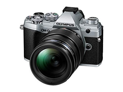 Olympus OM-D E-M5 Mark III Micro Four Thirds Systemkamera Kit (20 MP Sensor, 5-Achsen Bildstabilisator, Autofokus, elektronischer OLED Sucher, 4K-Video, WLAN, silber) + 12-40mm M.Zuiko PRO Objektiv