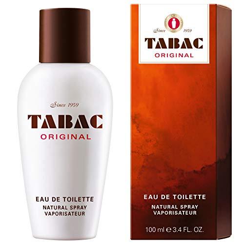 Tabac Eau de Toilette originale. Originale dal 1959. Profumo per uomo. Spray 100 ml.