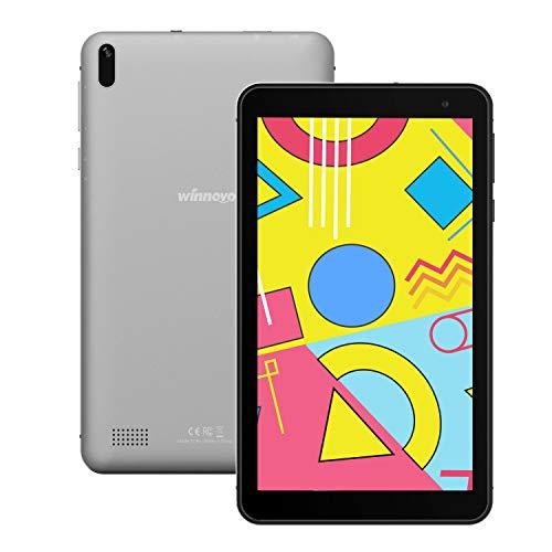 tablet mediacom 7 pollici Tablet 7-Pollici Android 9 WiFi- Winnovo 1GB RAM 16GB ROM IPS Display Bluetooth 4.0 Dual Camera GPS FM Certificato Google (Grigio)