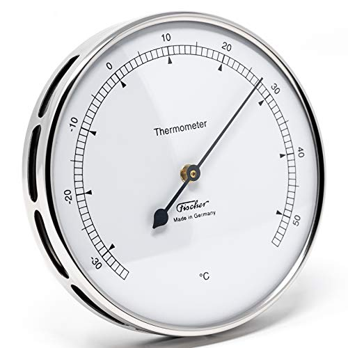 Fischer 117.01 Thermometer für innen und außen, Manufaktur aus Deutschland