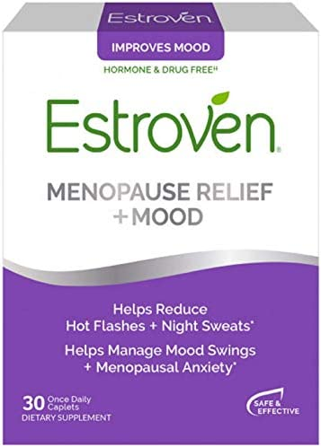 Estroven Stress Plus Mood Memory Menopause Relief Dietary Supplement Multi Symptom Relief Helps product image