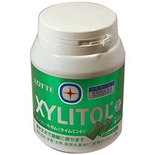 キシリトールガム ライムミント メガボトル