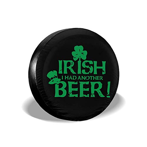 Enoqunt St. Patrick's Day Irish Reserverad-wieldop voor voordelige caravans en vele voertuigen