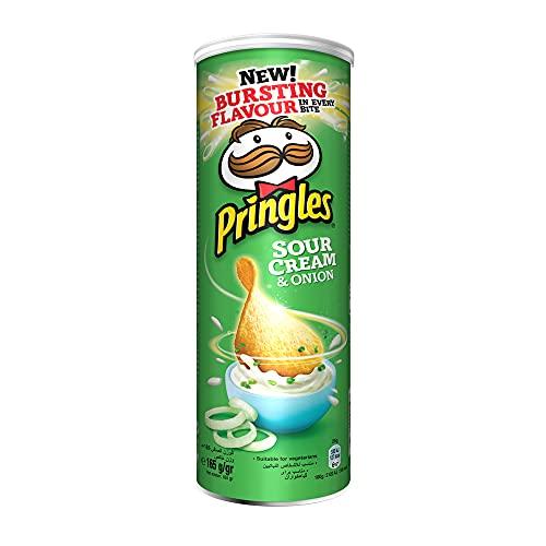 Pringles Sour Cream Onion, 165g