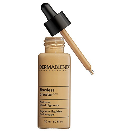 Dermablend Flawless Creator Multi-Use Liquid Foundation Makeup, Full Coverage Foundation, 43W, 1 Fl oz