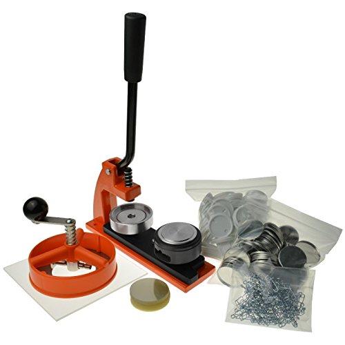 Enterprise Products - Micro - Máquina de chapas - Con 1000 piezas y cortador circular - Troquel intercambiable de 38mm