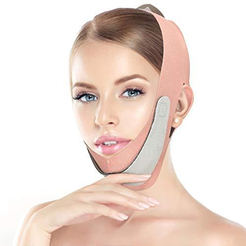 Facelifting-Gurt Facial Beauty Tool für Frauen V-Line Facial Slimming Tool Band Sculpt Bandage Mann Reduzieren Sie Double Chin Shaper Belt Pink