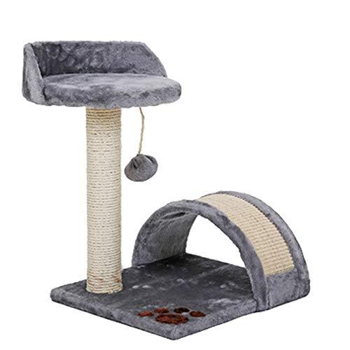 Chengzuoqing Árboles de Actividades para Gatos Gato y Gatito Agujero Torre de los Gatos Centro de Actividades Gatito casa del Juego de los Gatitos, Gatos y Mascotas Jugar, Dormir, Descansar