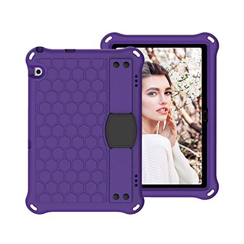 Tablets Duras Funda para niños para Huawei MediaPad T5 10 Case, para Huawei MediaPad T5 10.1-pulgada de peso ligero a prueba de golpes Estuche de protección de cuerpo completo, con asa, correa de homb