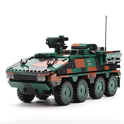 XINGBAO New 06043 Military Army Building Blocks WW2 Toys 808pcs The GTK Boxer Armored Vehicle Model Kits Military Bricks Stem Toys