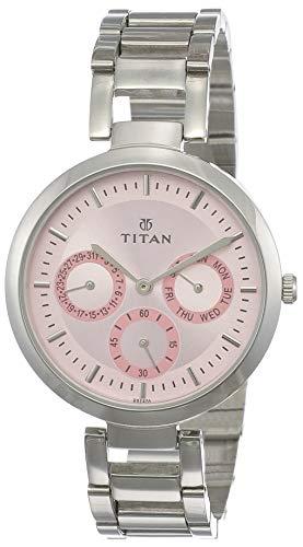 Titan Youth Analog Pink Dial Women's Watch