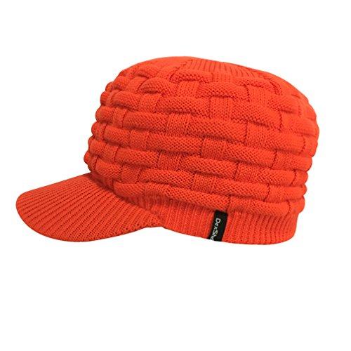 DexShell Waterproof Orange Peaked Beanie Hat (for Hunting)