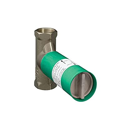 Hansgrohe 15974181 Axor Rough Volume Control Valve, 1/2-Inch from Hansgrohe