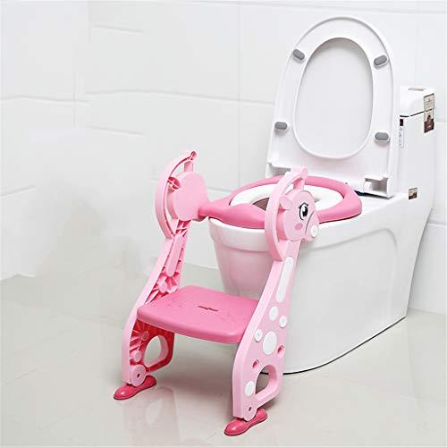 Pot Bébé Toilette Toilette D'entraînement Échelle Pot De Siège Siège De Formation Potty Avec Step Enfants Pliant Toilette 3 Coloris