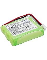 TECHTEK batería sustituye BTR2260B, para HGB-15AAx3, para HGB-2A10, para HGB-2A10x3 Compatible con [Huawei] 515H, ETS2022, ETS2222, ETS2222+, ETS2252, ETS3023, ETS3125, ETS3125i, ETS3253, ETS5623, F2