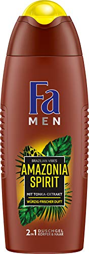 Fa Men Douchegel Men Amazonia Spirit Brazilian Vibes, per stuk verpakt (1 x 250 ml)