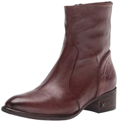 Sam Edelman Women's Hilary Fashion Boot Dark Brown 8 Medium