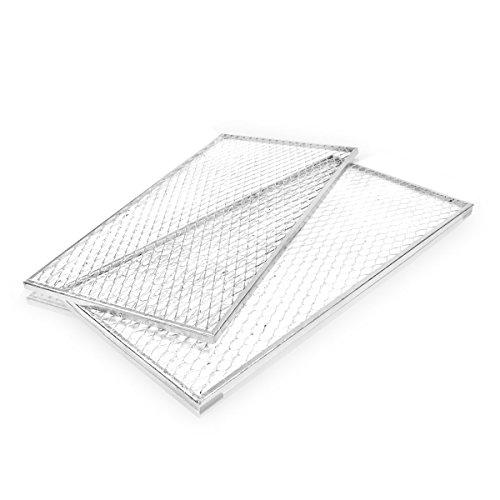 Brista 585163 Deckel Zu Silo, 80cm x 80cm, Silber, 2 Stück