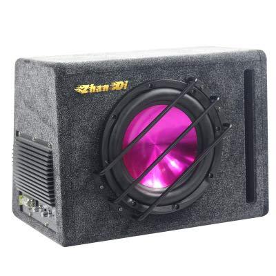 Linshenyoulu auto subwoofer 10-inch auto audio-actieve luidspreker laag direct af fabriek hoge prestaties