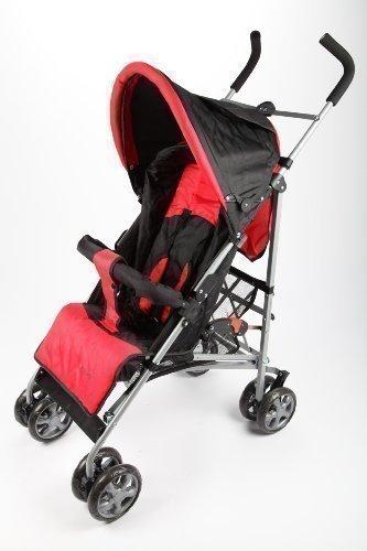point-kids Buggy Kinderwagen Sportwagen schwarz/rot