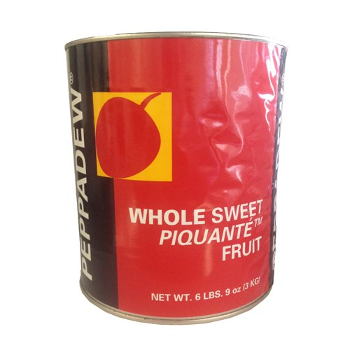 Whole Sweet Piquante Peppadew Peppers - 105 oz (Pack of 2)