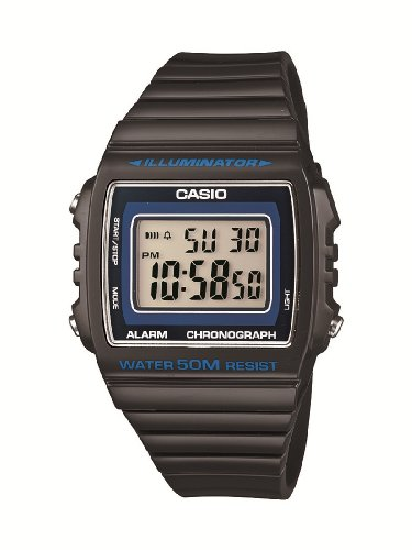 CASIO Collection Orologio da Polso, Quadrante Digitale, Unisex, Resina, Colore Nero
